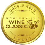 McMinnville Wine Classic Wine Competition Double Gold