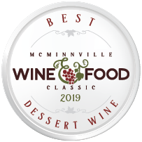McMinnville Wine & Food Classic Wine Competition Best Dessert Wine Award
