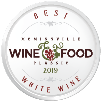 McMinnville Wine & Food Classic Wine Competition Best White Wine Award
