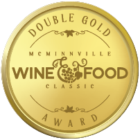 McMinnville Wine & Food Classic Wine Competition Double Gold Award